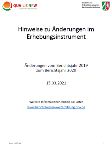 Download (PDF, 1.3MB) Hinweise zu Änderungen zum Erhebungsinstrument
