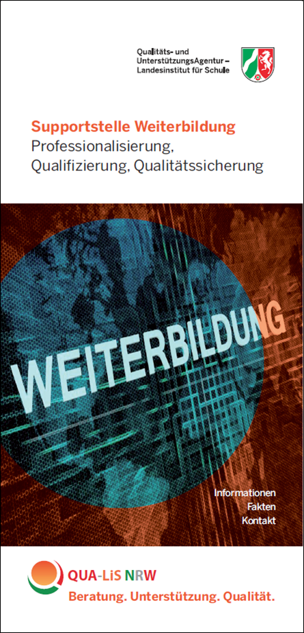 Download (PDF,4MB) Flyer Supportstelle Weiterbildung