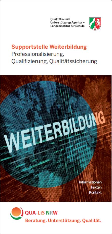 Download (PDF,4MB) Flyer Supportstelle Weiterbildung
