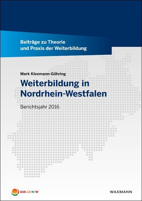 Weiterbildungsbericht NRW - Berichtsjahr 2016